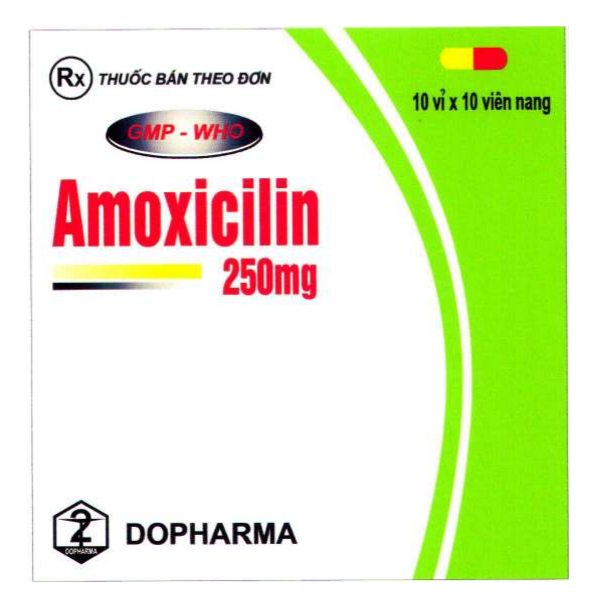 Amoxicilin 250mg - DP TW2