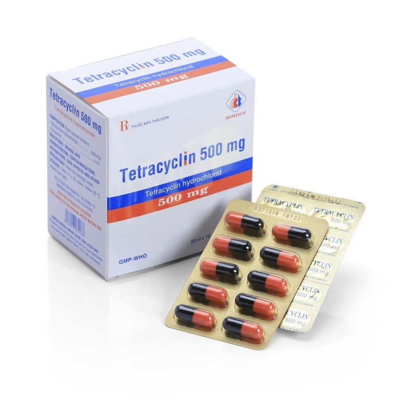 Tetracyclin 500 mg - Domesco