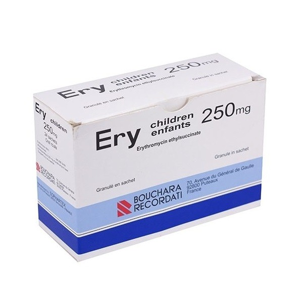 Ery Children 250 mg (Erythromycin) - Pháp