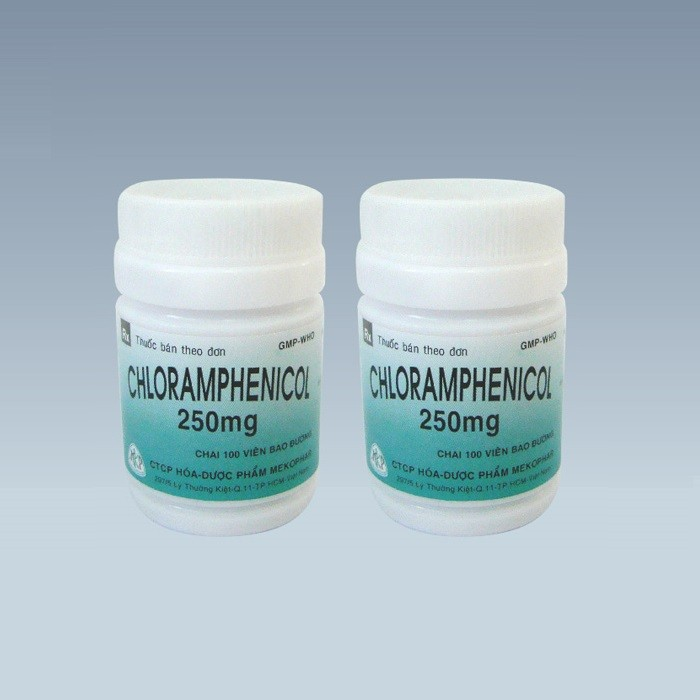 Chloramphenicol 250mg - Mekophar