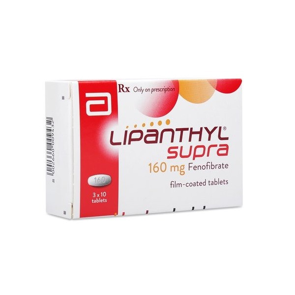 Lipanthyl Supra 160mg - USA